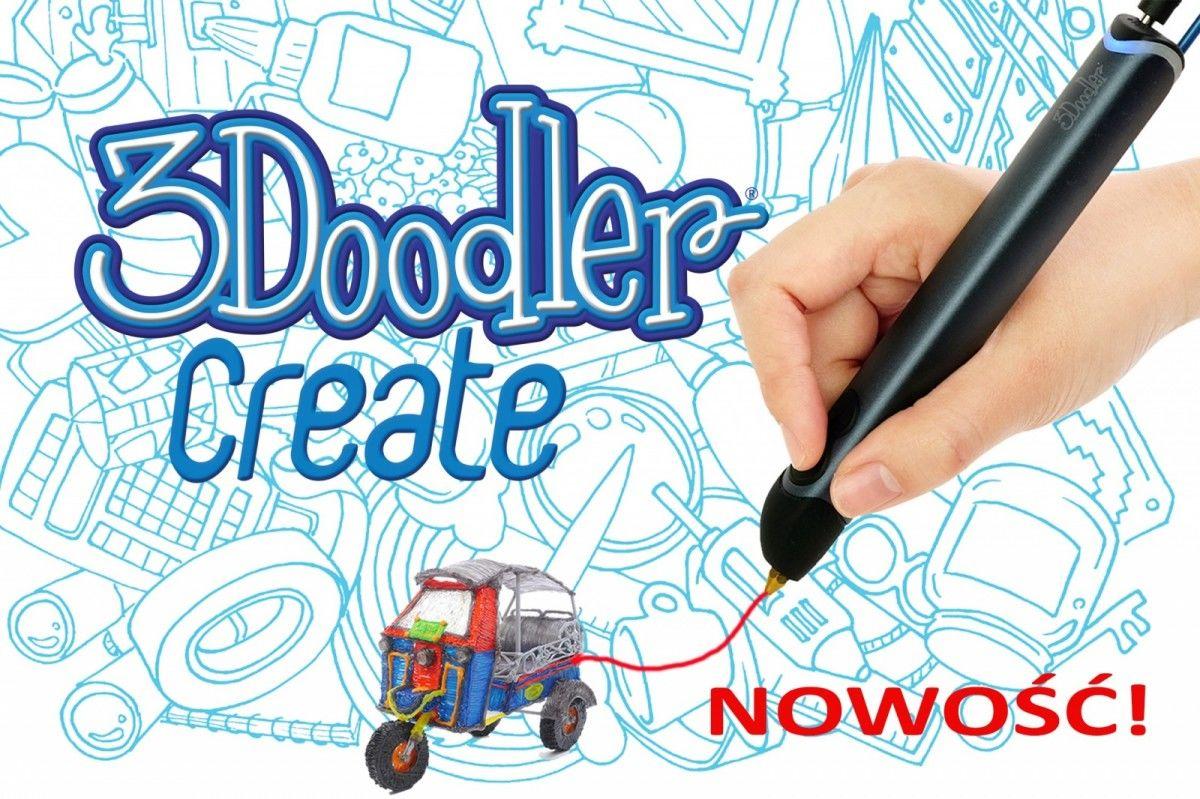 3DOODLER CREATE - Długopis 3D, Ręczna drukarka 3D
