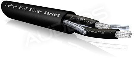 ViaBlue SC-2 Silver Series, kabel głośnikowy , posrebrzany 2x4mm
