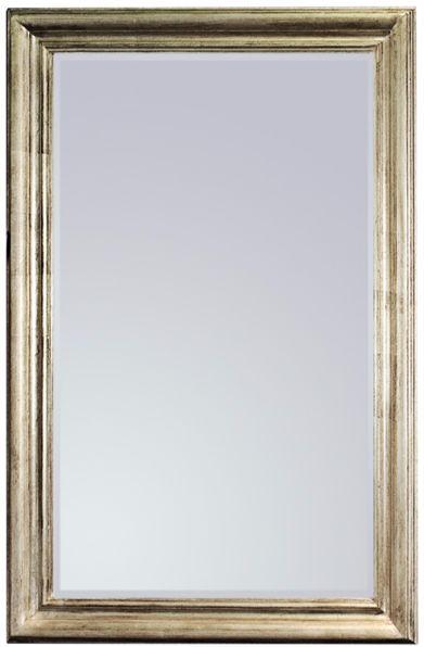 Vintage Silver Lustro ścienne 80x120