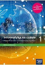 Nowe informatyka na czasie era podręcznik 1 liceum i technikum zakres podstawowy 67502 990/1/2019 ZAKŁADKA DO KSIĄŻEK GRATIS DO KAŻDEGO ZAMÓWIENIA
