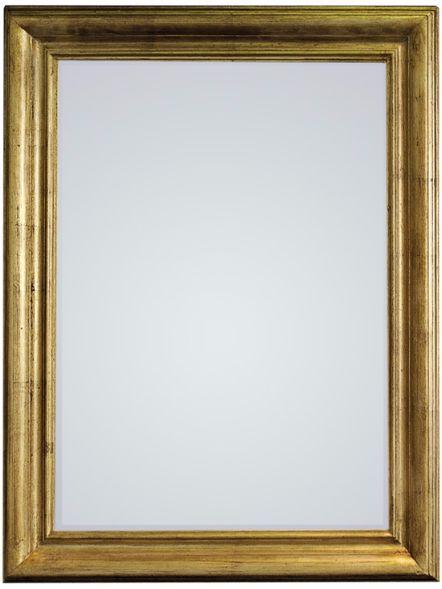 Vintage Gold Lustro ścienne 70x90