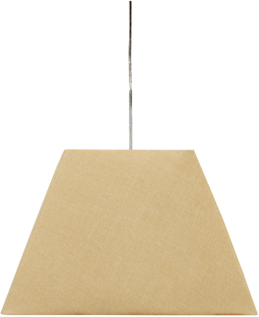 Candellux STANDARD 31-10018 lampa wisząca geometryczny kształt abażura kremowy 1X60W E27 35 cm