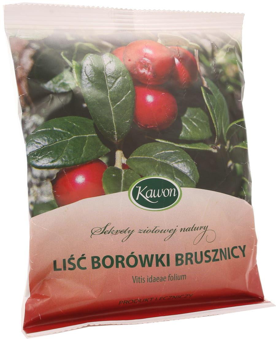 Liść borówki brusznicy - Kawon - 50 g