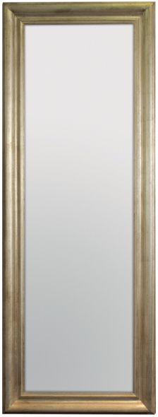 Vintage Silver Lustro ścienne 60x160