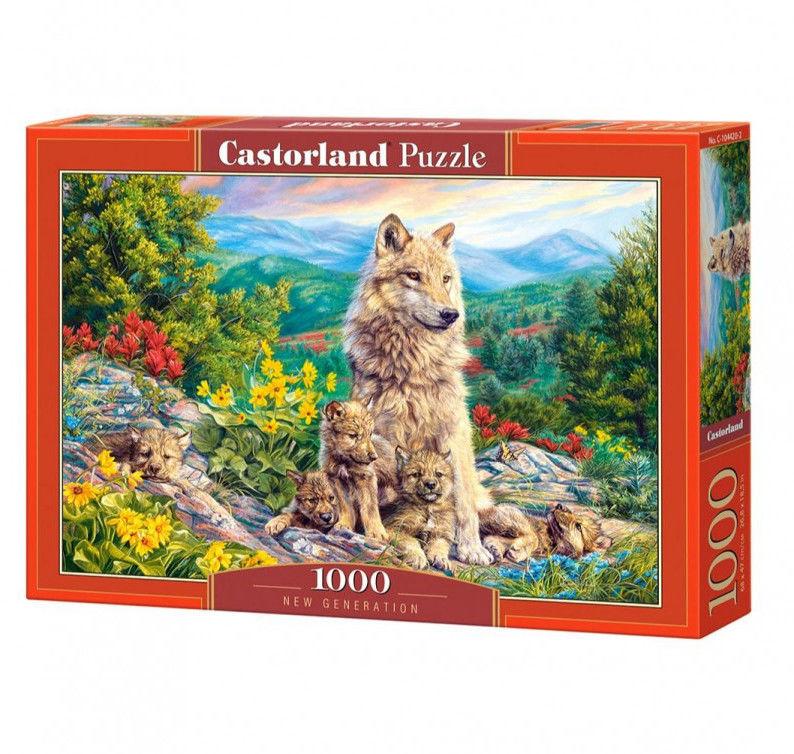 Puzzle Castor 1000 - Nowe pokolenie, New Generation
