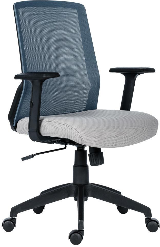 ANTARES Fotel biurowy NOVELLO czarno/szary Antares