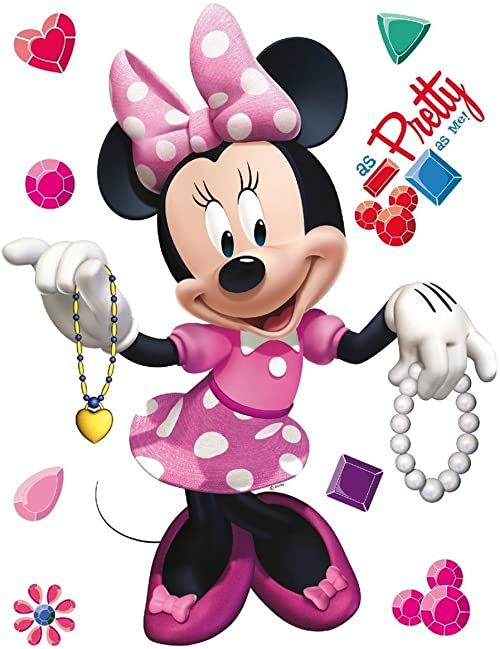 Naklejka ścienna DK 1754 Disney Minnie Mouse
