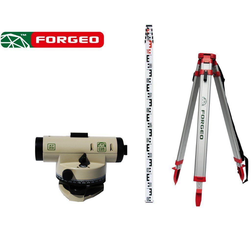 Zestaw niwelacyjny optyczny FORGEO AT20