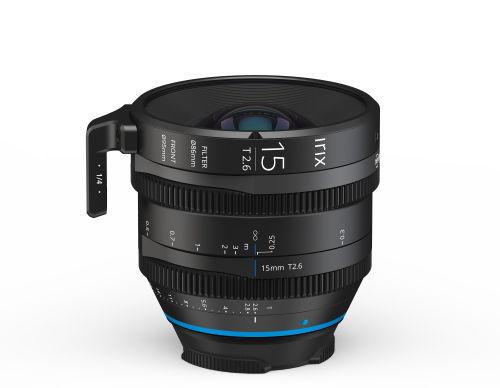 Irix Cine 15mm T2.6 - obiektyw stałoogniskowy do Canon EF, Metric Irix Cine 15mm T2.6 / Canon EF, Metric