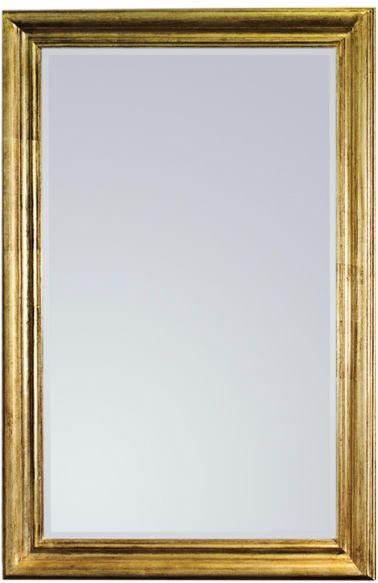 Vintage Gold Lustro ścienne 80x120