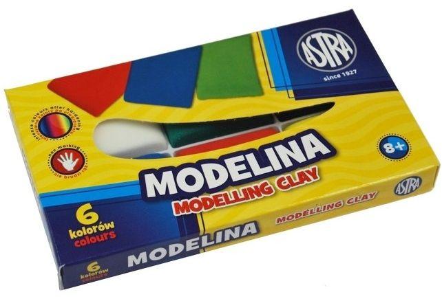 Modelina szkolna ASTRA 6 kolorów 40025