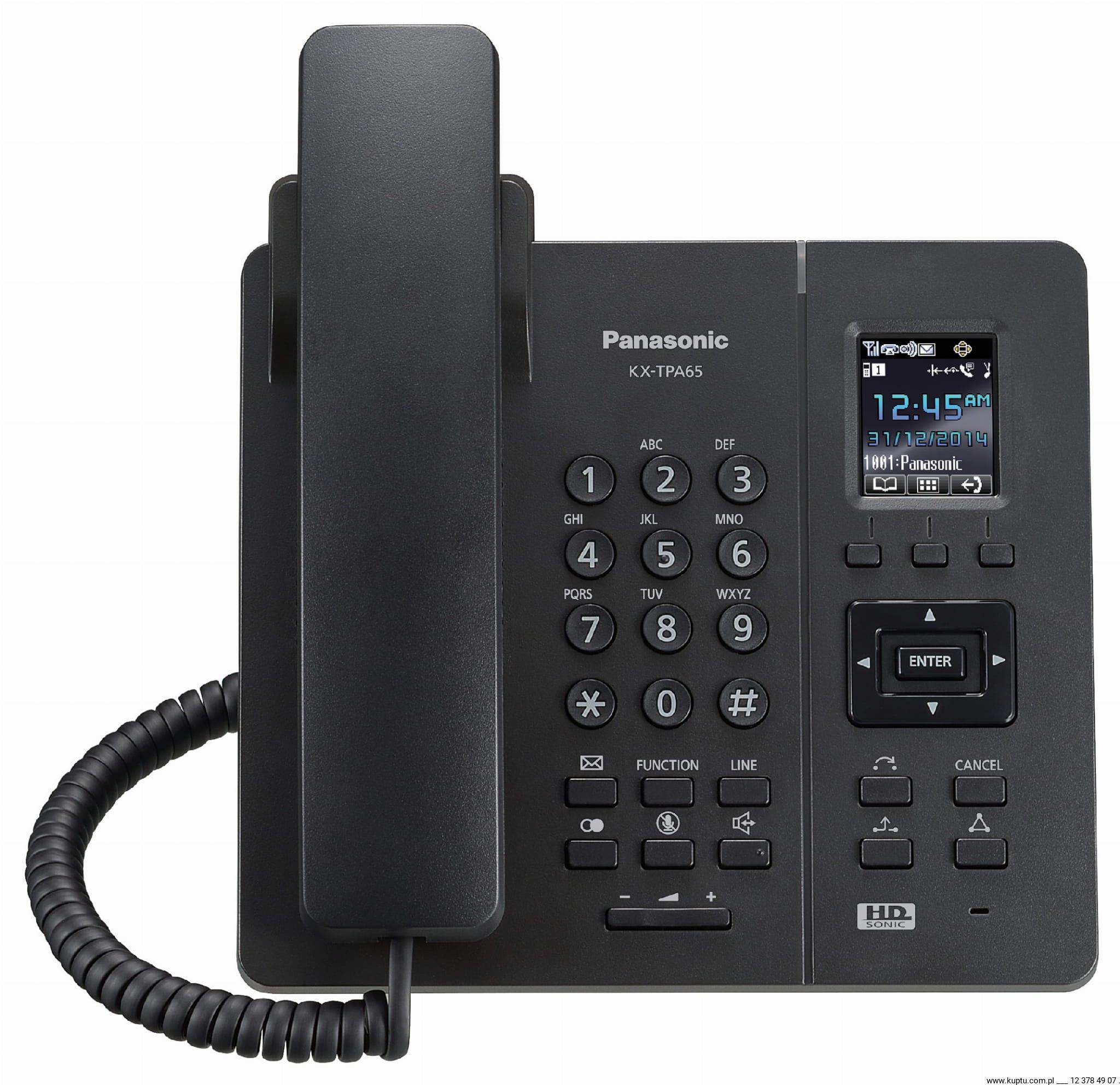 Słuchawka DECT KX-TPA65 Panasonic