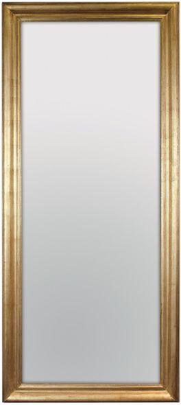 Vintage Gold Lustro ścienne 80x180