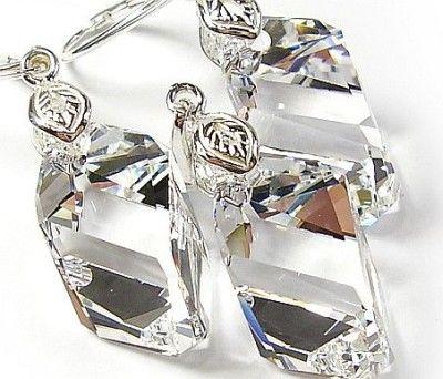 SWAROVSKI komplet+łańcuszek Crystal CERTYFIKAT