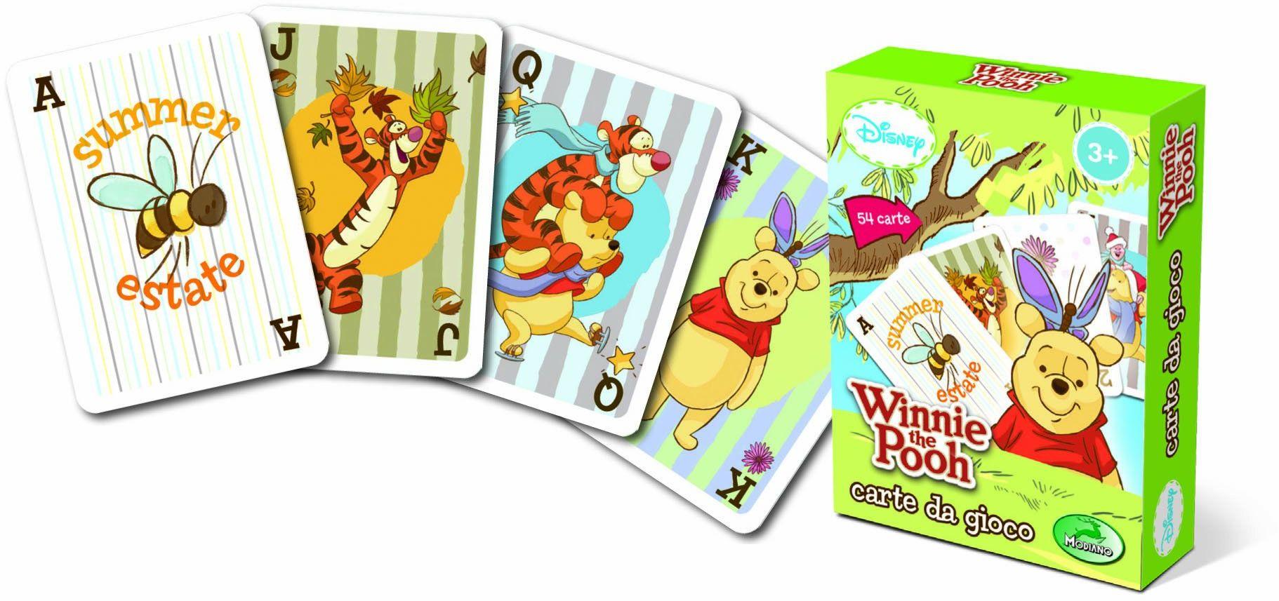 Modiano Karty do gry Disney  Kubuś Puchatek