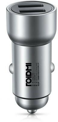 Roidmi (Xiaomi EcoSystem) Ładowarka samochodowa 2x USB Xiaomi Roidmi