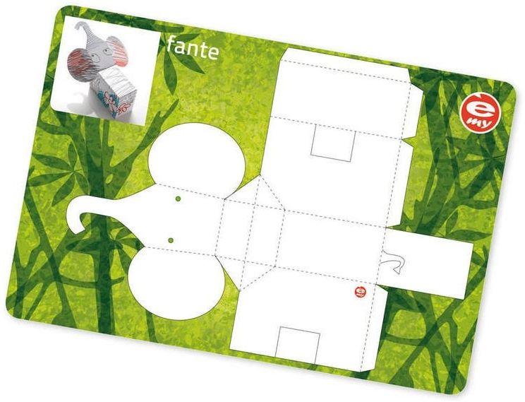 Guzzini -e- my - podkładki na stół, słoń - zielony