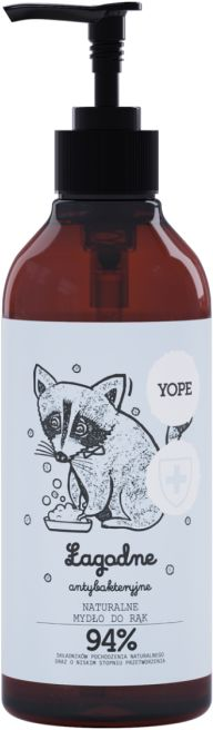 Mydło do Rąk Naturalne Łagodne Antybakteryjne Herbata 400ml - Yope
