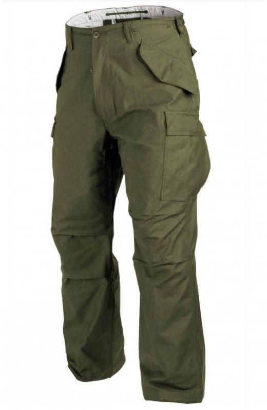Spodnie wojskowe Helikon M65 Nyco Olive Green (SP-M65-NY-02)