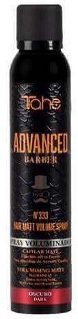 Tahe Advanced Barber 333 Hair Matt Volume Spray Dark puder w spray''u na objętość 200ml