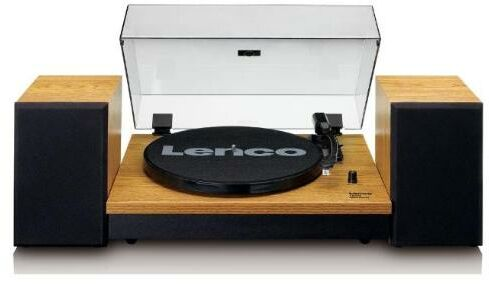 Lenco LS-300 (drewno) + głośniki - Kup na Raty - RRSO 0%