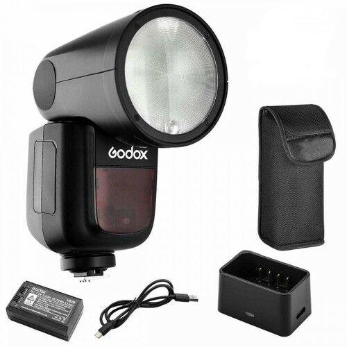 Godox V1 round head flash Canon