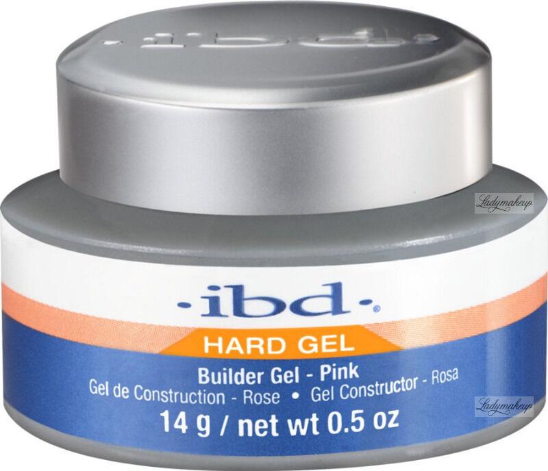 Ibd - Hard Gel - Builder Gel - Żel budujący - 14 g - PINK