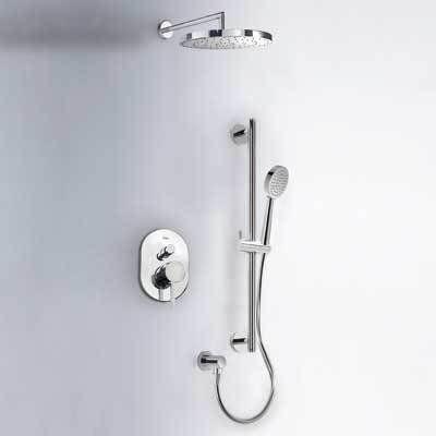 Alplus Tres zestaw prysznicowy z baterią podtynkową chrom - 203.180.03 Darmowa dostawa