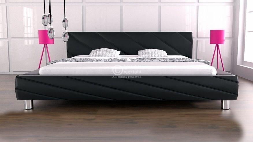 Łóżko do sypialni Apollo 140x200 - tkanina