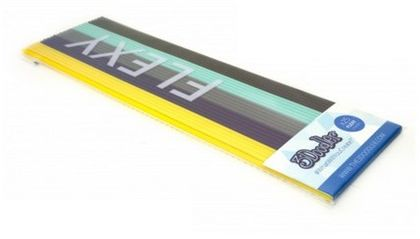 SUNEN 3DOODLER wkłady zapasowe 25szt, 5 kolorow, FLEXY