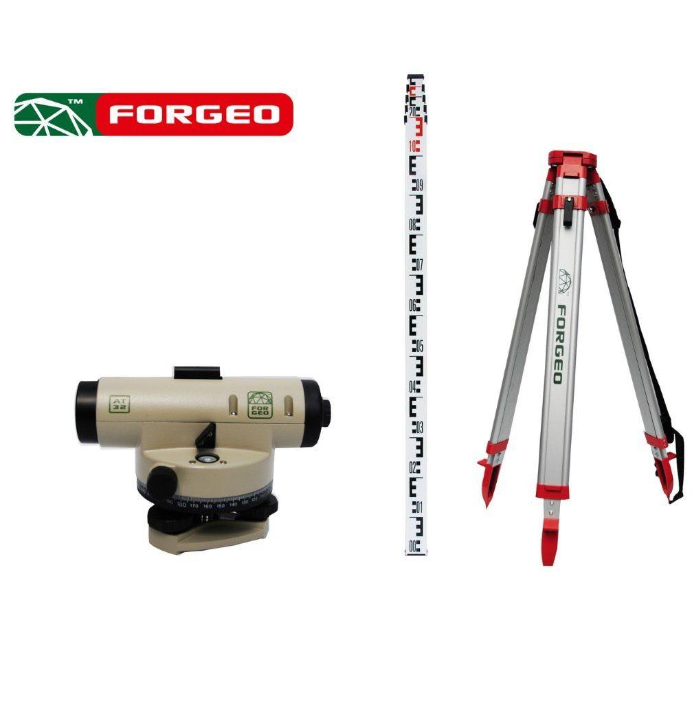 Zestaw niwelacyjny optyczny FORGEO AT32