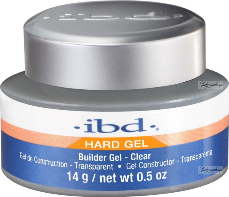 Ibd - Hard Gel - Builder Gel - Żel budujący - 14 g - CLEAR
