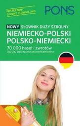 Słownik szkolny niem-pol-niem ZAKŁADKA DO KSIĄŻEK GRATIS DO KAŻDEGO ZAMÓWIENIA