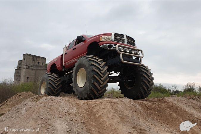 Jazda Monster Truckiem dla Dwojga Warszawa