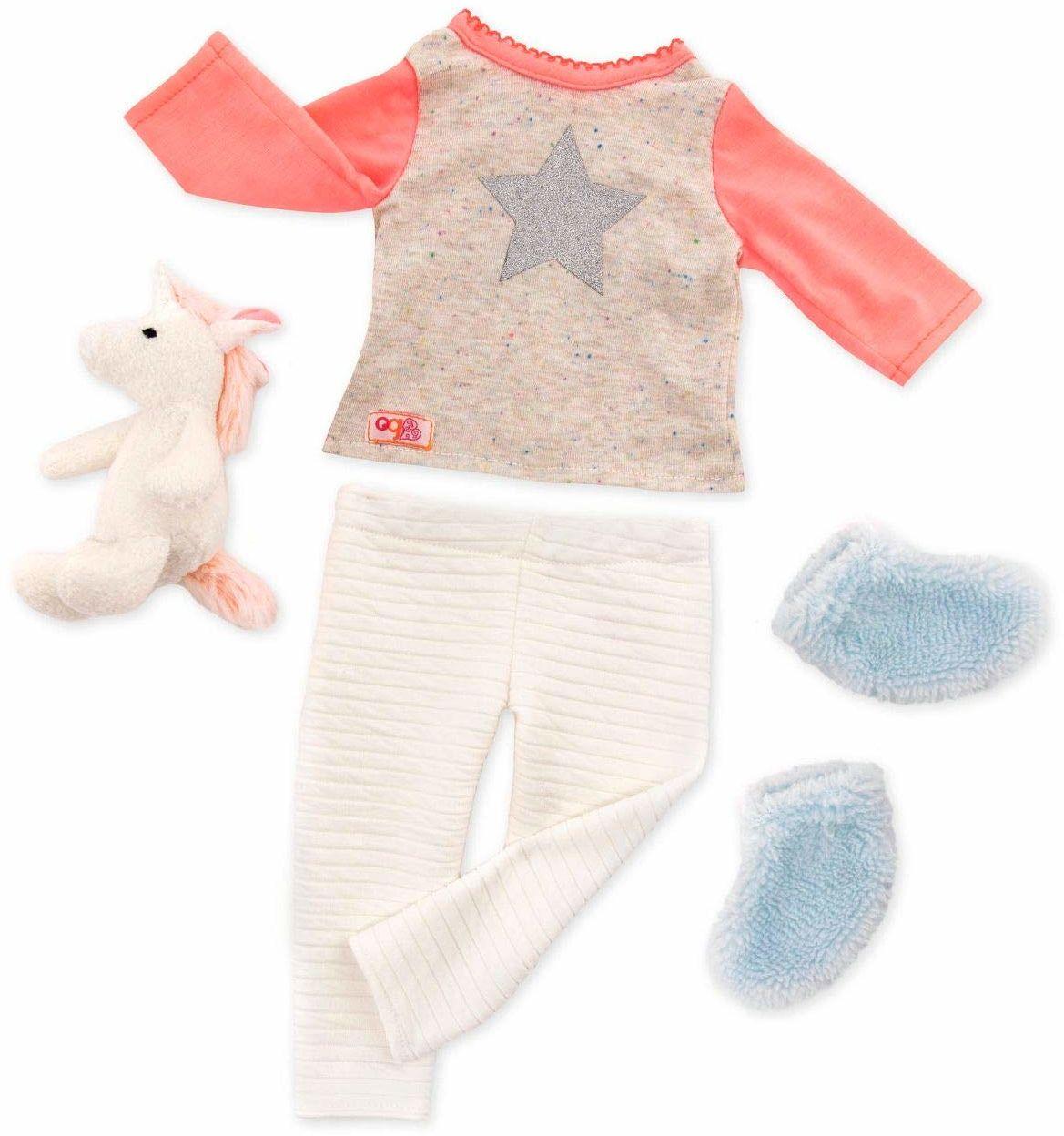 Our Generation BD30311Z Unicorn piżama strój lalki