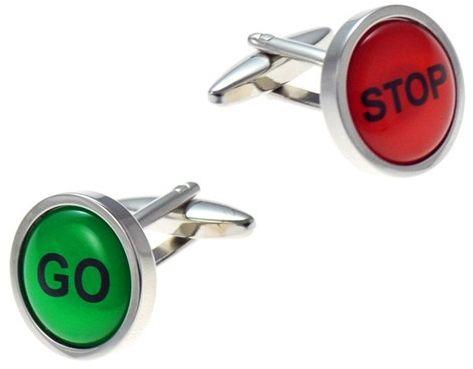 Spinki do mankietów Stop Go SD-1300