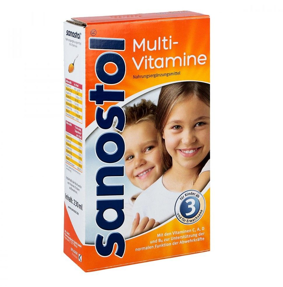 Sanostol sok dla dzieci