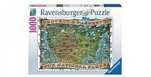 Puzzle Ravensburger 1000 - Parki Narodowe USA, National Parks