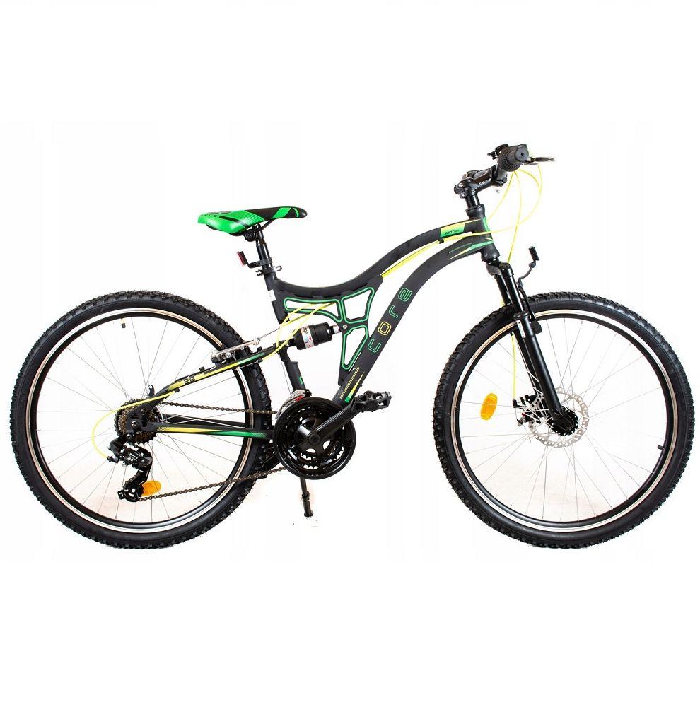 Rower Tought 24 R17 Me 2021 czarno-zielony