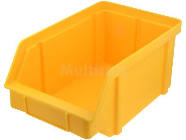 Pojemnik warsztatowy typ II - 314x202x148mm żółty