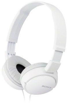 Słuchawki SONY MDR-ZX110 Biały+ 40 zł na dzień dobry w Klubie MediaMarkt. Sprawdź!