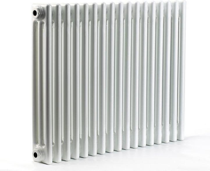 Grzejnik pokojowy retro - 3 kolumnowy, 500x800, biały/ral - biały