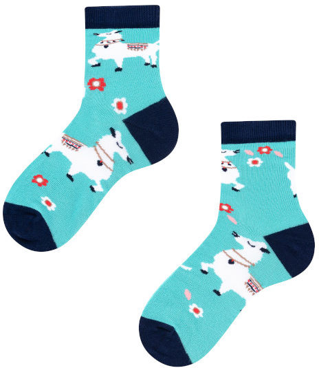 Alpaka Kids, Todo Socks, Lama, Kolorowe Skarpetki Dziecięce