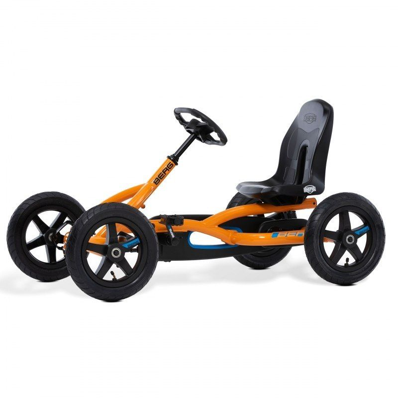 BERG Gokart na pedały Buddy B-Orange do 50 kg 3-8 lat