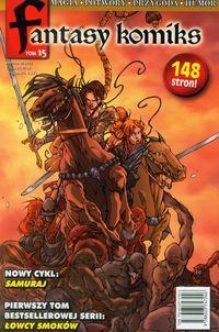 Fantasy Komiks Tom 15 ZAKŁADKA DO KSIĄŻEK GRATIS DO KAŻDEGO ZAMÓWIENIA