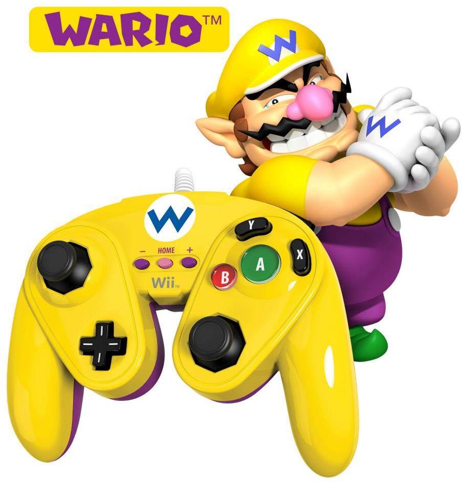 Wii U Super Smash GameCube Controller (Wario)