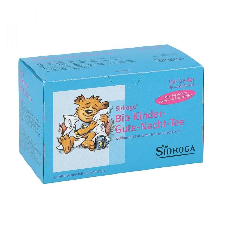 Sidroga Bio Kinder herbata dla dzieci na dobry sen saszetki (20