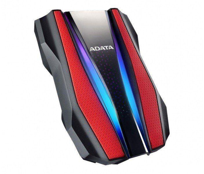 Adata Dysk twardy zewnętrzny HD770G 1TB USB3.2 czerwony