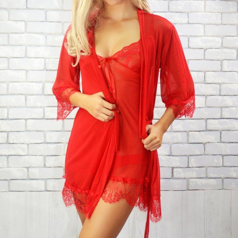 Komplet koszula + szlafrok Beauty Senses BS00142