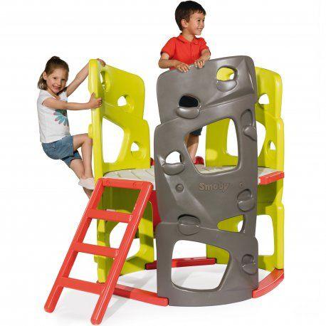 Plac zabaw z wieżą wspinaczkową SMOBY